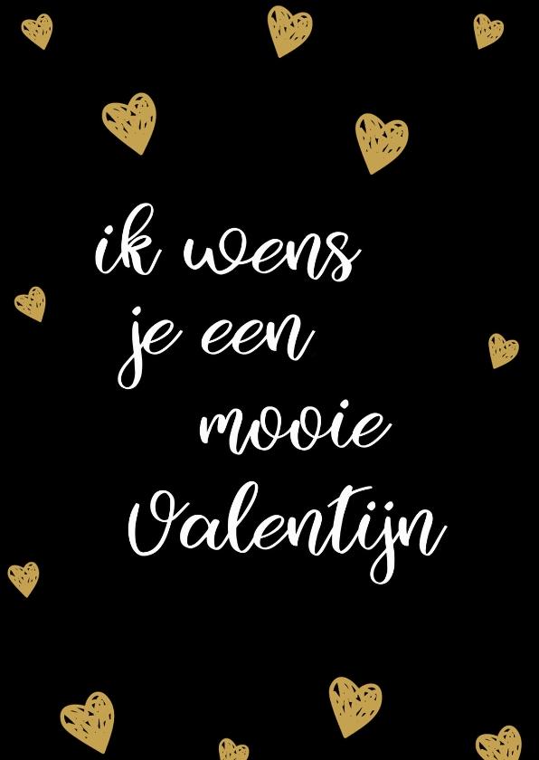 Valentijnskaarten - Valentijnskaart ik wens je...
