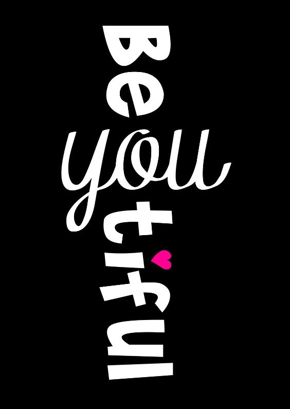 Valentijnskaarten - Valentijnskaart lieve tekst zwartwit