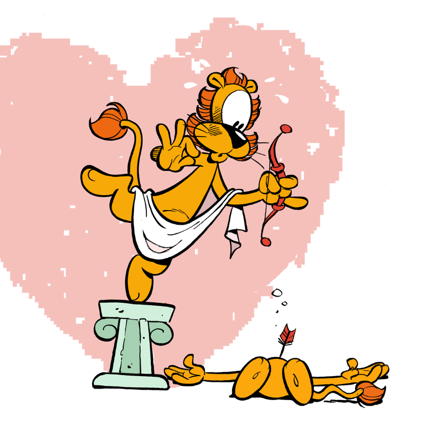 Valentijnskaarten - Valentijnskaart Loeki - GS