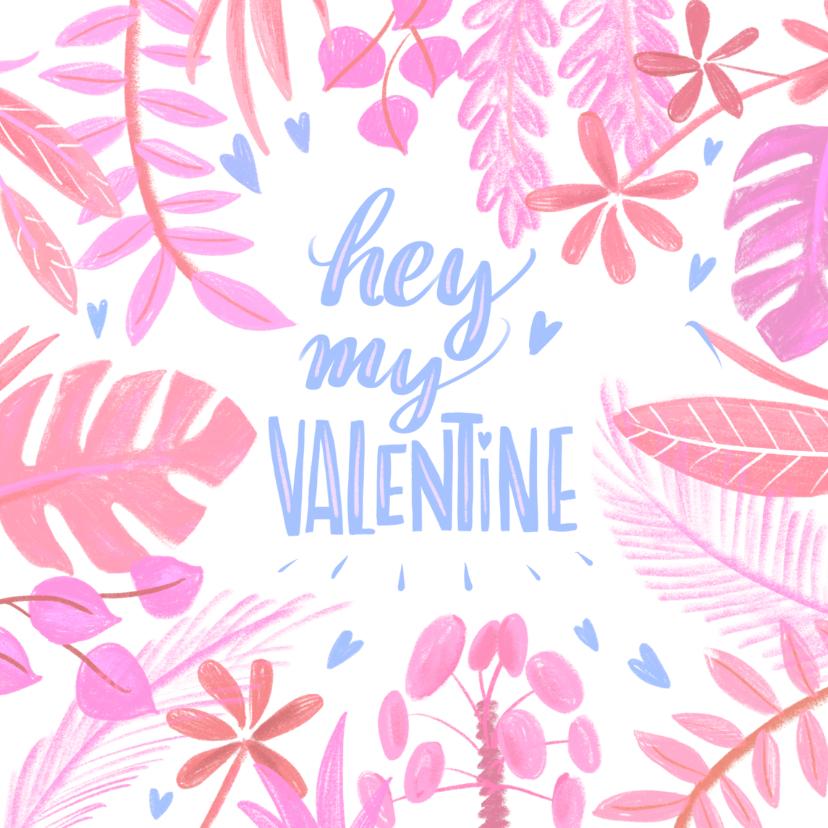 Valentijnskaarten - Valentijnskaart planten