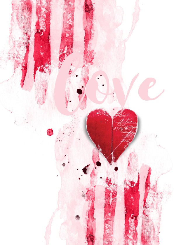 Valentijnskaarten - Valentijnskaart Valentijn Hart
