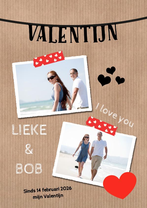 Valentijnskaarten - ZWK Valentijnskaart - DH