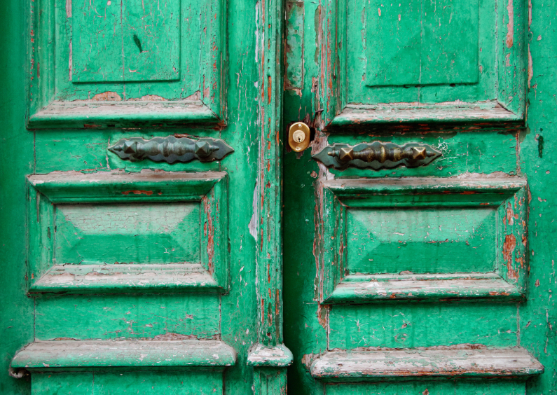 Verhuiskaarten - Adreswijziging 2 - Groene Deur - OT