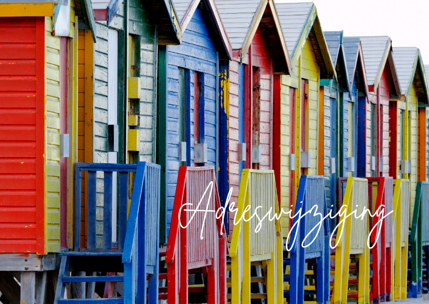 Colourful Home - strandhuisjes  1