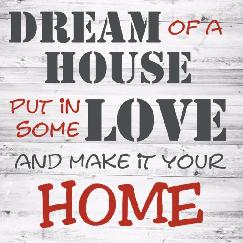 Verhuiskaarten - dream-home