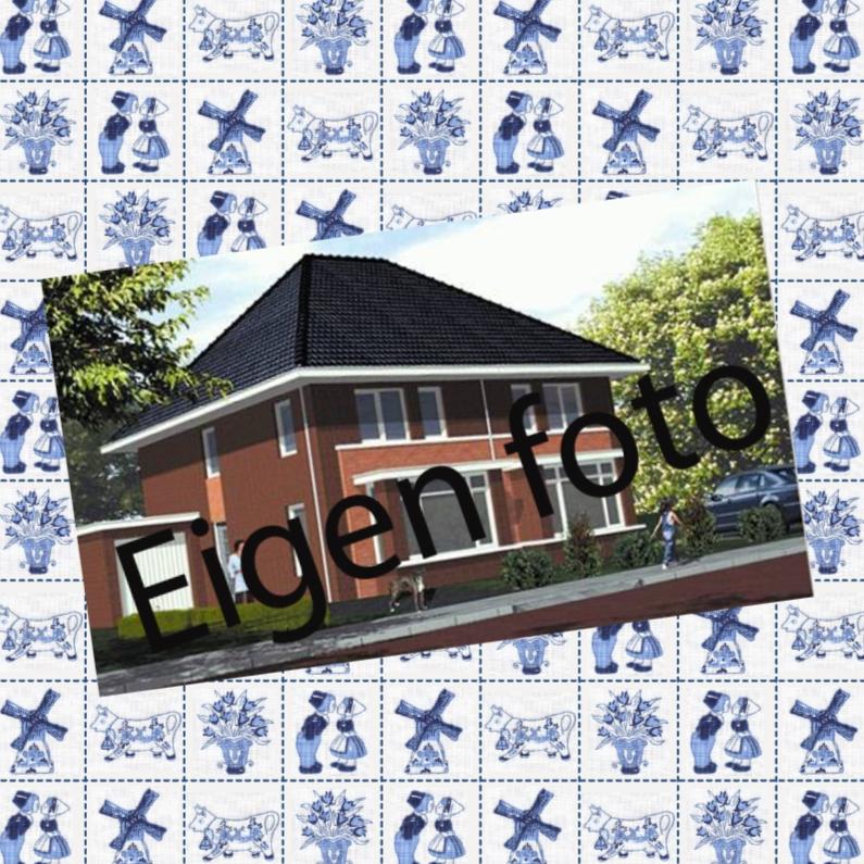 Verhuiskaarten - JippieJippie een nieuwe woning 016 foto