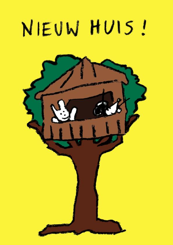 Verhuiskaarten - Joep & Hop zijn verhuisd