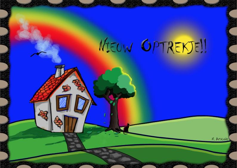 Verhuiskaarten - Nieuw Optrekje