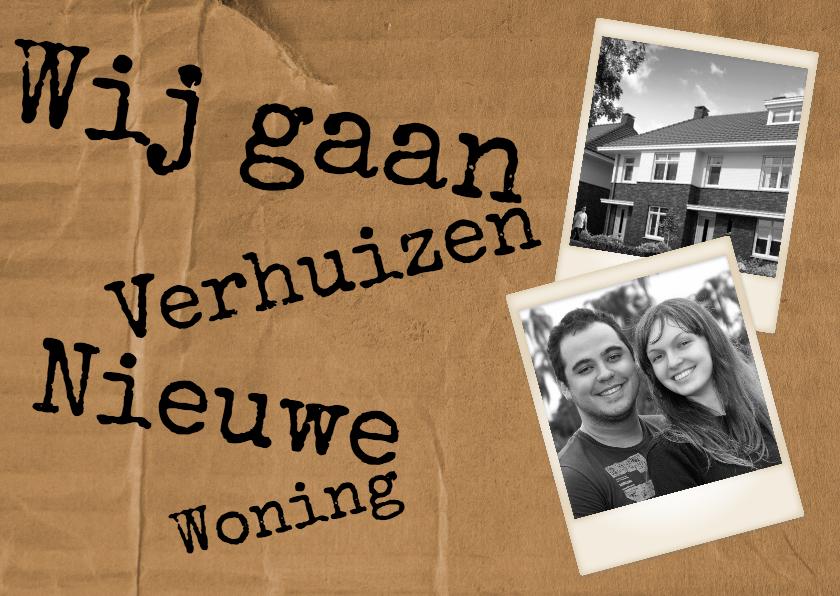Verhuiskaarten - Nieuwe Woning - BK