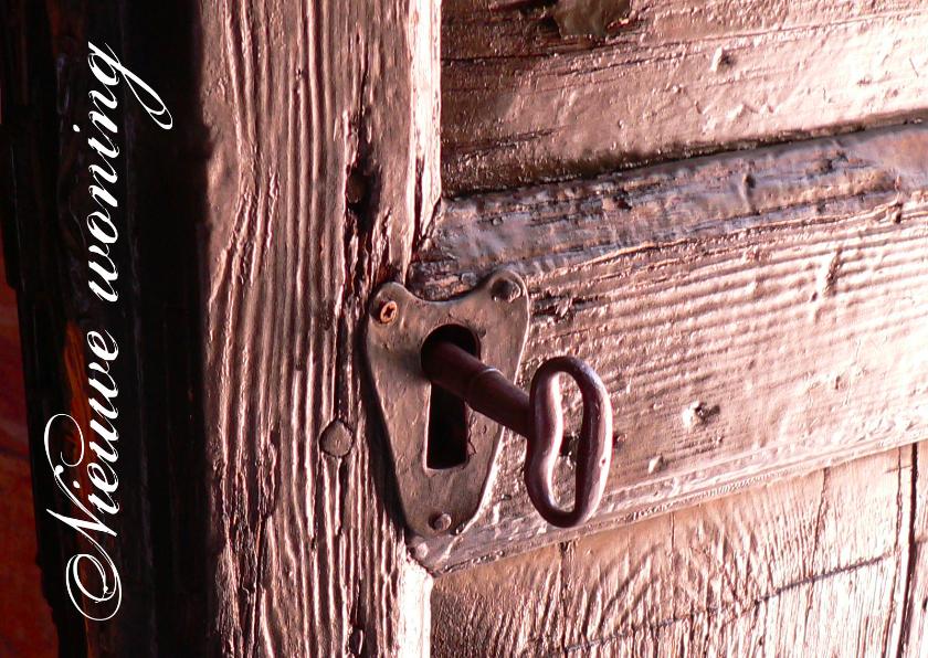 Verhuiskaarten - Nieuwe woning sleutel 2