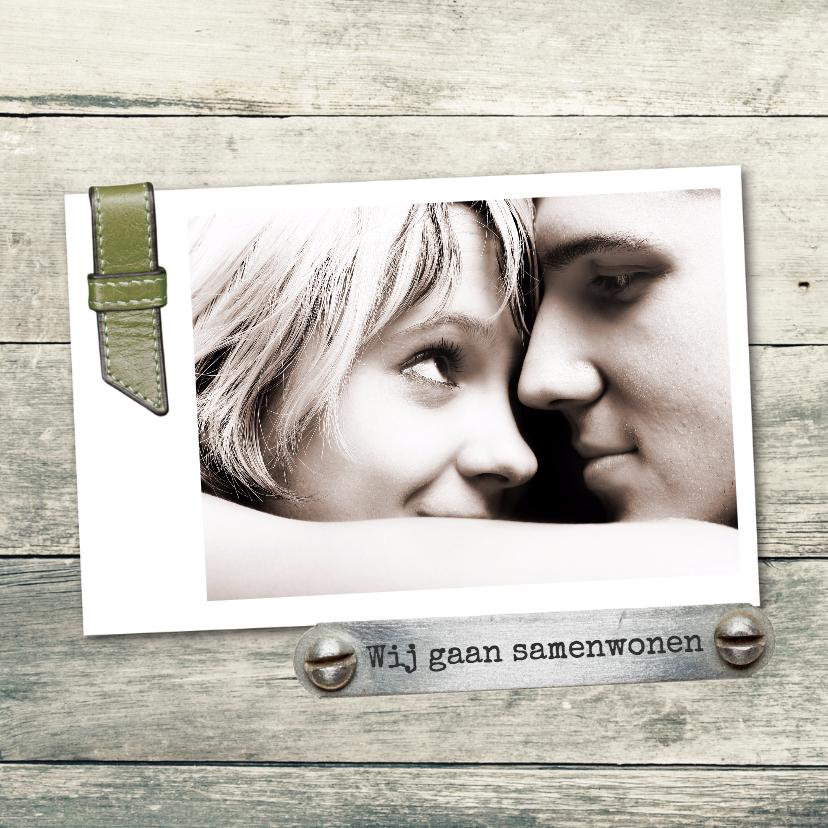 Verhuiskaarten - Samenwonen Jorrit en Nina