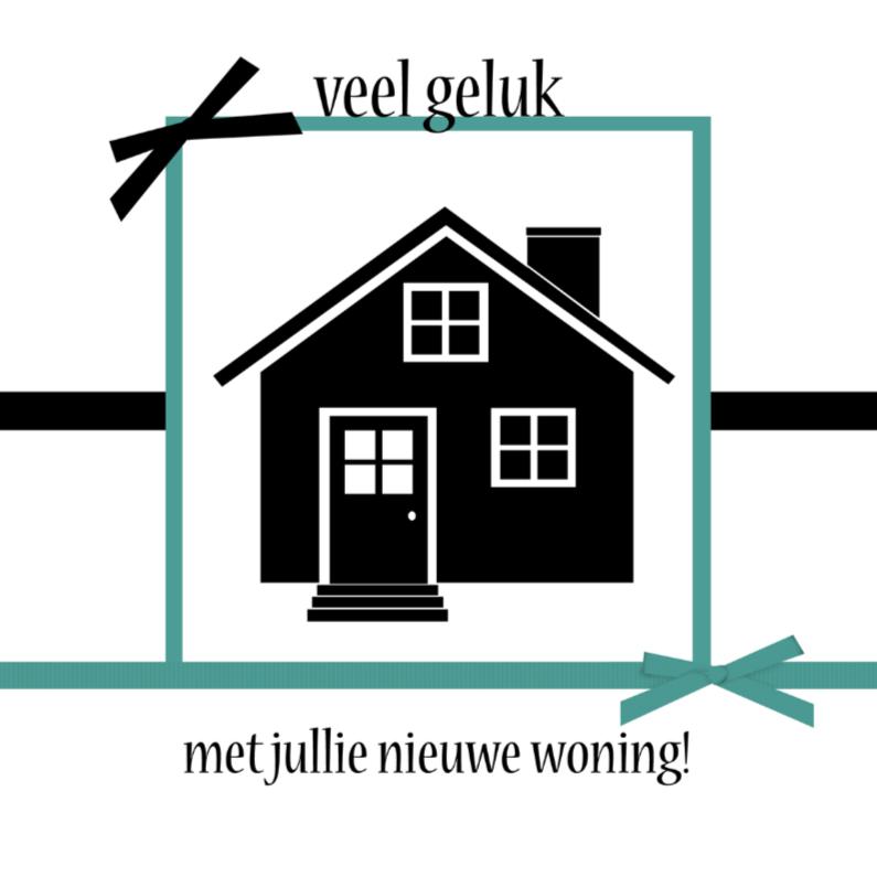 Verhuiskaarten - veel geluk nieuwe woning