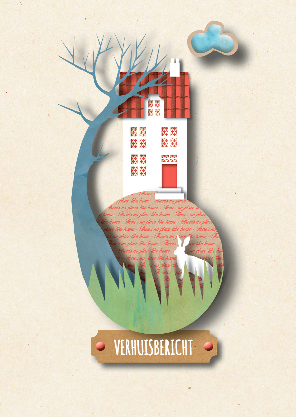 Verhuiskaarten - Verhuis - A place like home - MW