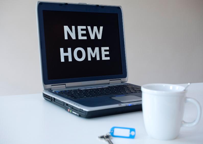 Verhuiskaarten - Verhuisbericht New Home