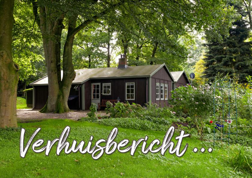 Verhuiskaarten - Verhuiskaart eigen foto huis -OT