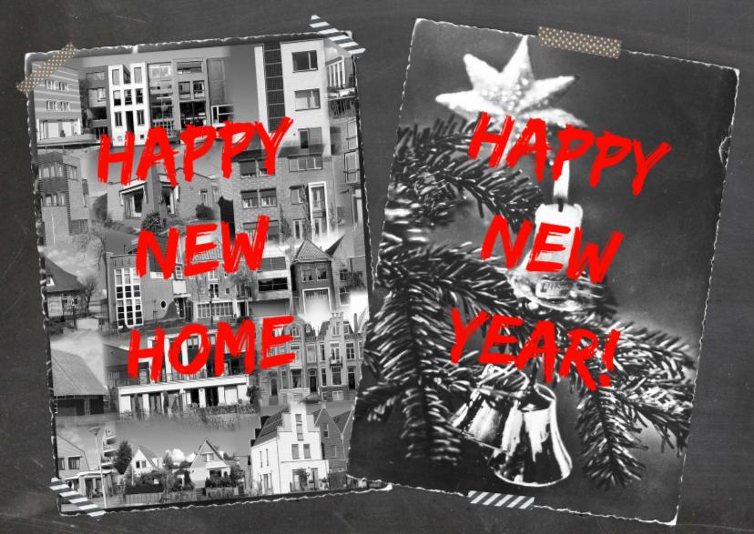 Verhuiskaarten - verhuiskaart en feestdagen
