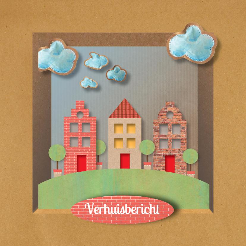 Verhuiskaarten - Verhuiskaart - Home in Box - MW