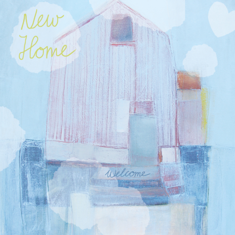 Verhuiskaarten - Verhuiskaart huis geschilderd