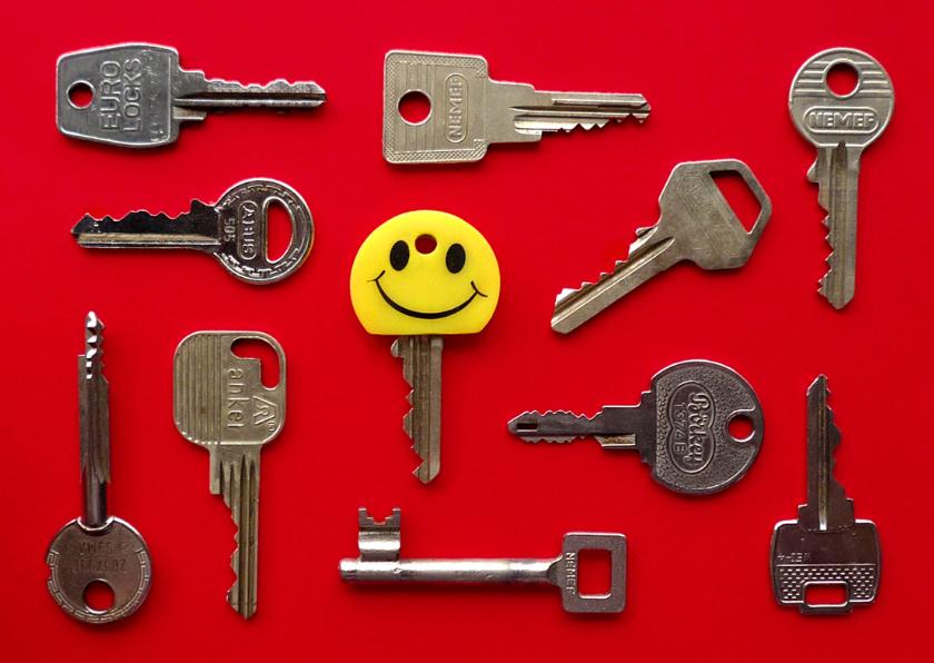 Verhuiskaarten - Verhuiskaart nieuwe sleutel