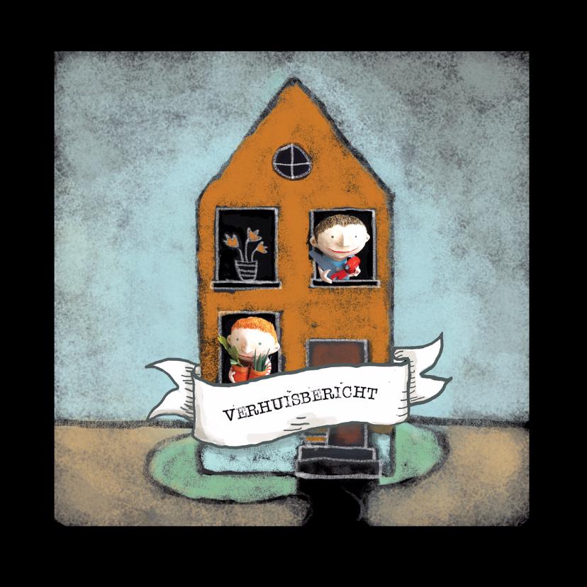 Verhuiskaarten - Verhuiskaart - Ons huis - MW