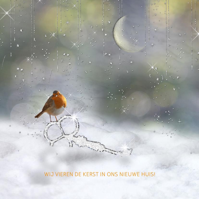 Verhuiskaarten - Verhuiskaart, tevens kerstkaart