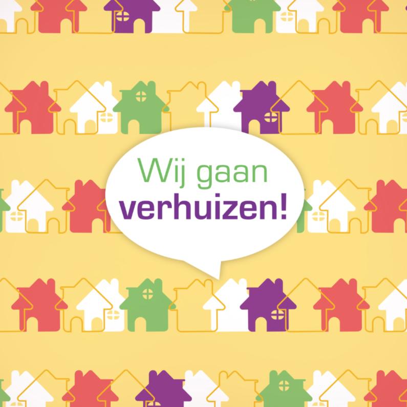 Verhuiskaarten - Verhuizen huis 2