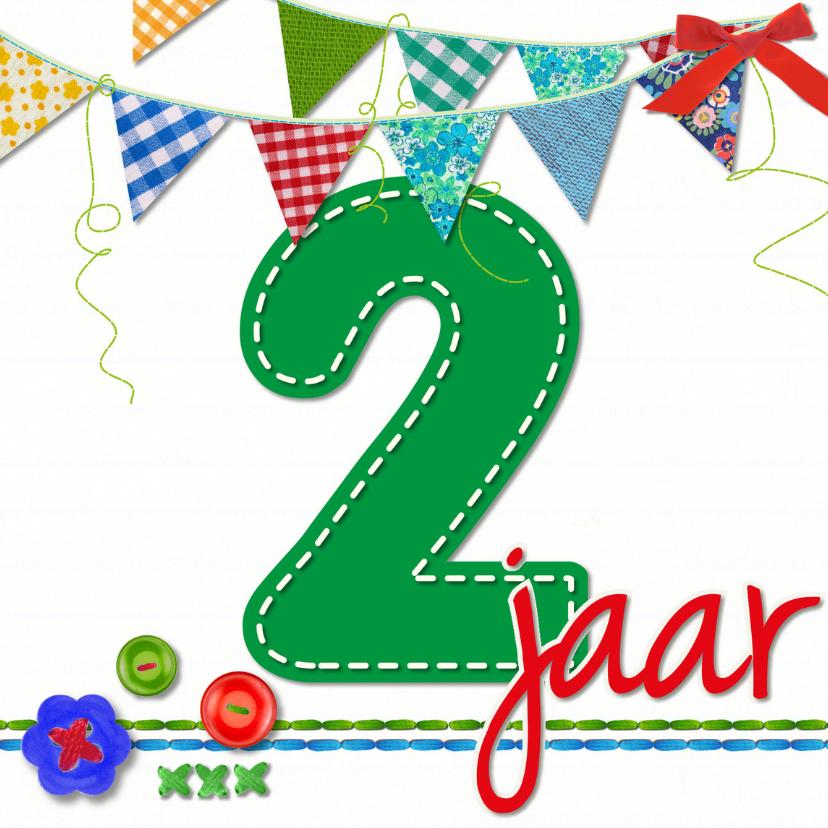 Verjaardagskaarten - 2 jaar  verjaardag -BF