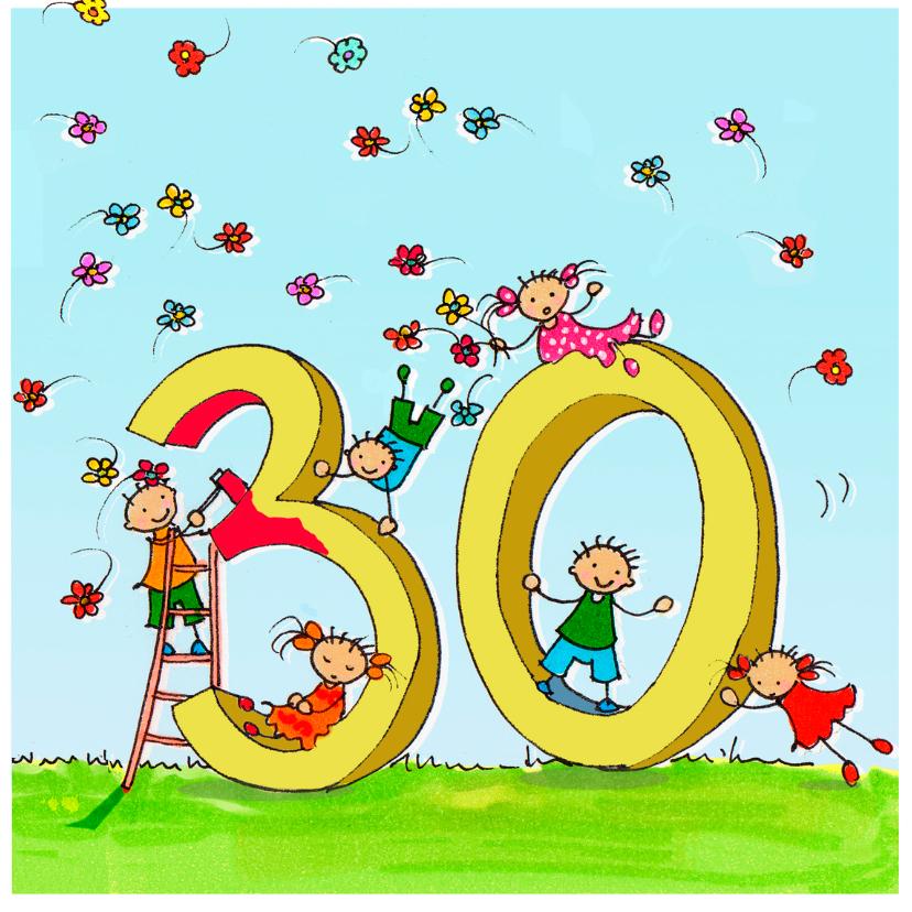 Verjaardagskaarten - 30 jaar Anet Illustraties