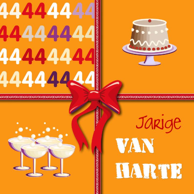Verjaardagskaarten - 44e gefelciteerd