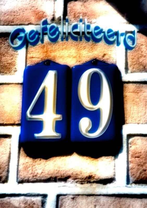 Verjaardagskaarten - 49 jaar