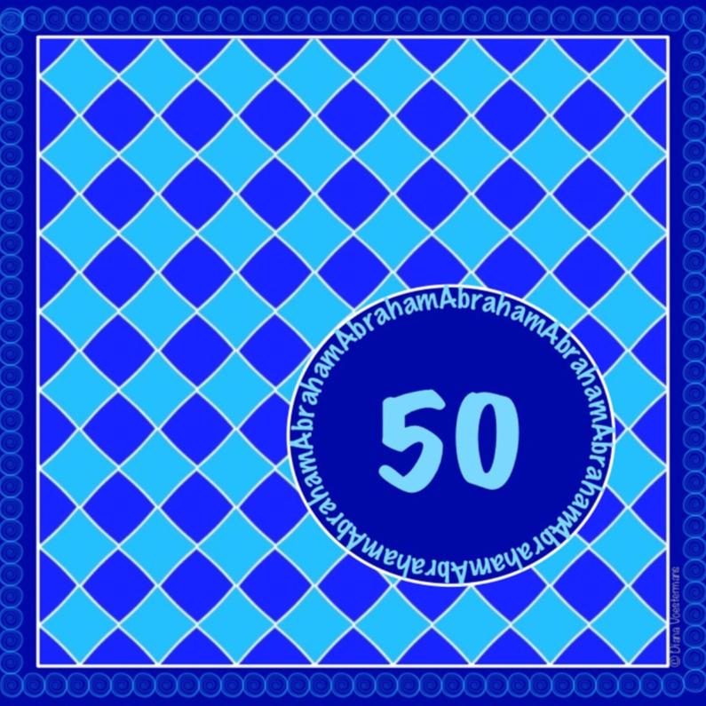 Verjaardagskaarten - 50 Abraham