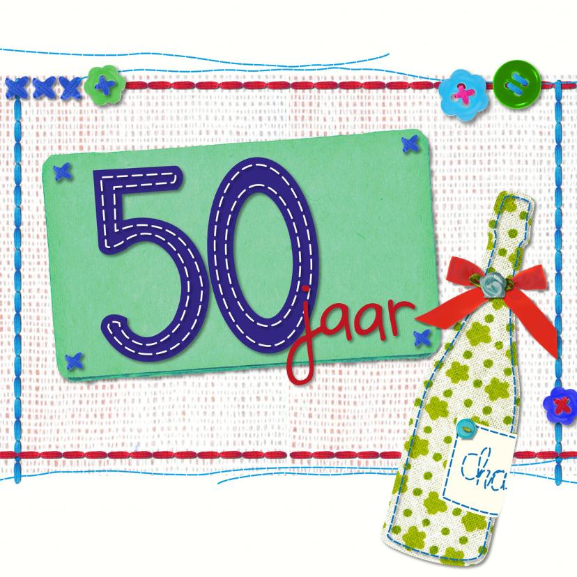Verjaardagskaarten - 50 jaar sarah abraham -BF