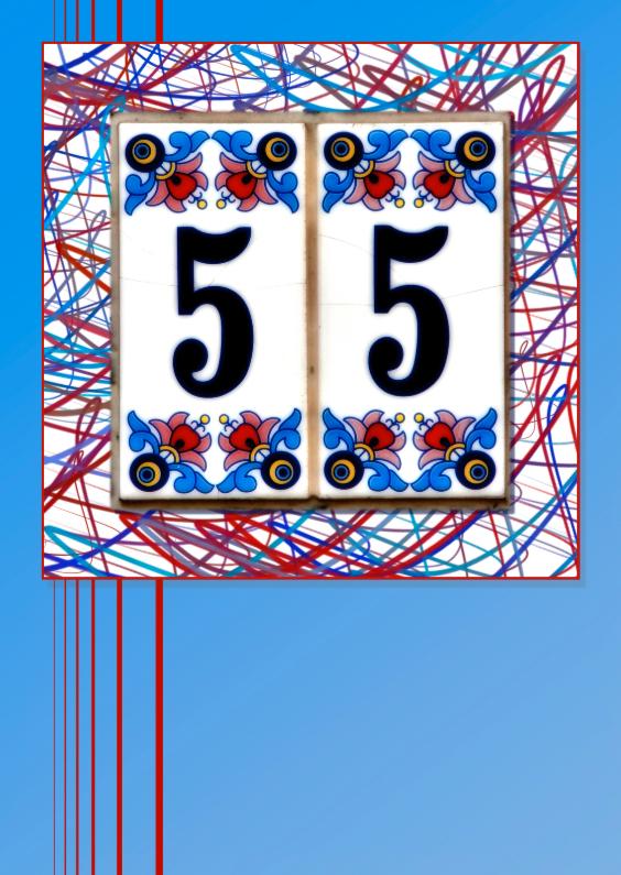 Verjaardagskaarten - 55 jaar
