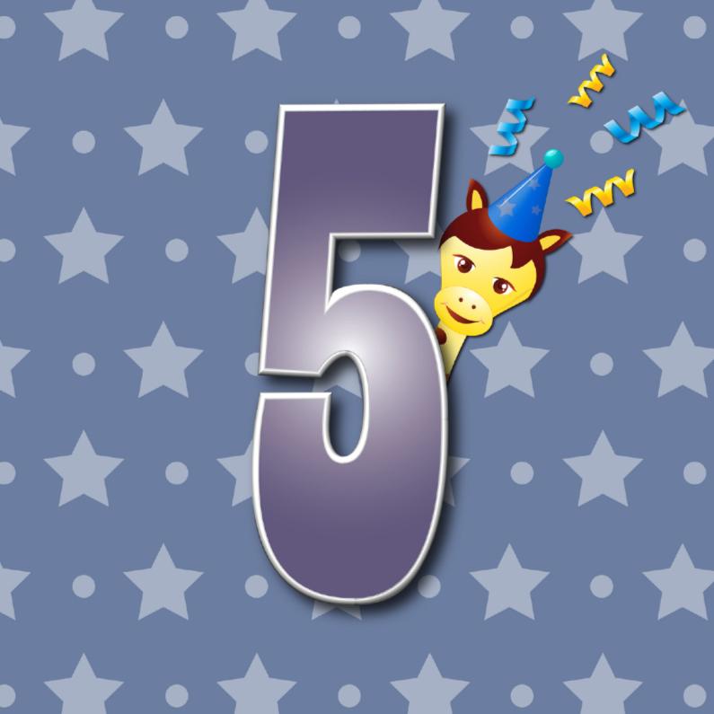 Verjaardagskaarten - 5jaar