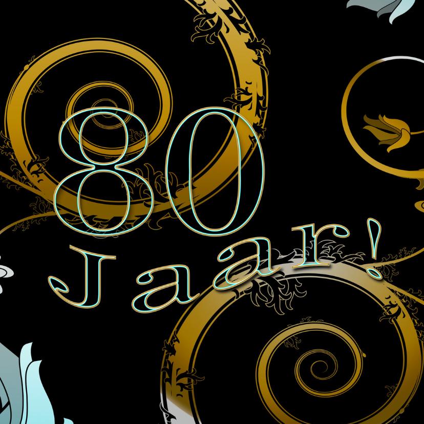 Verjaardagskaarten - 80 jaar Charme RB
