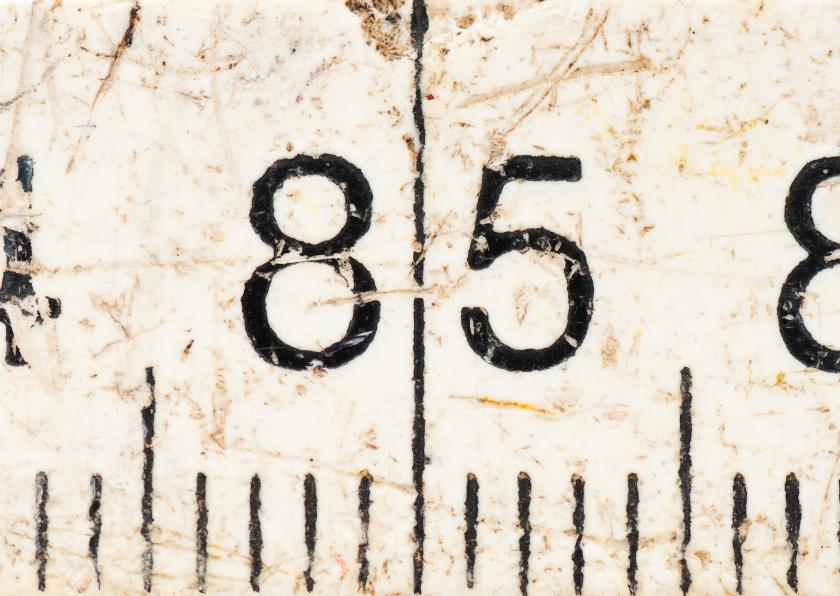 Verjaardagskaarten - 85 op oude witte duimstok