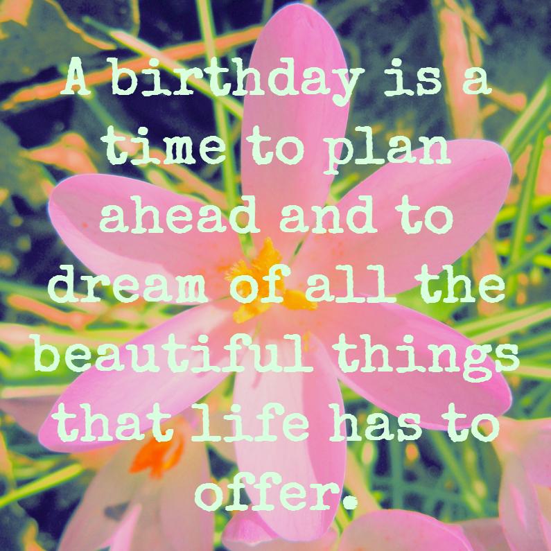 Verjaardagskaarten - A time to plan ahead