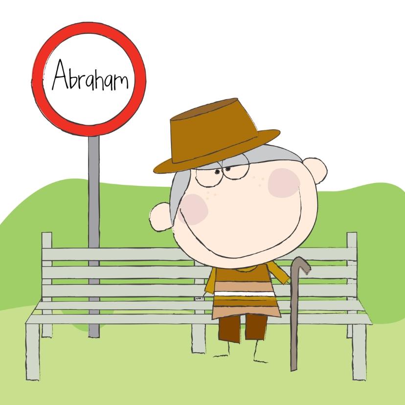 Verjaardagskaarten - Abraham 1