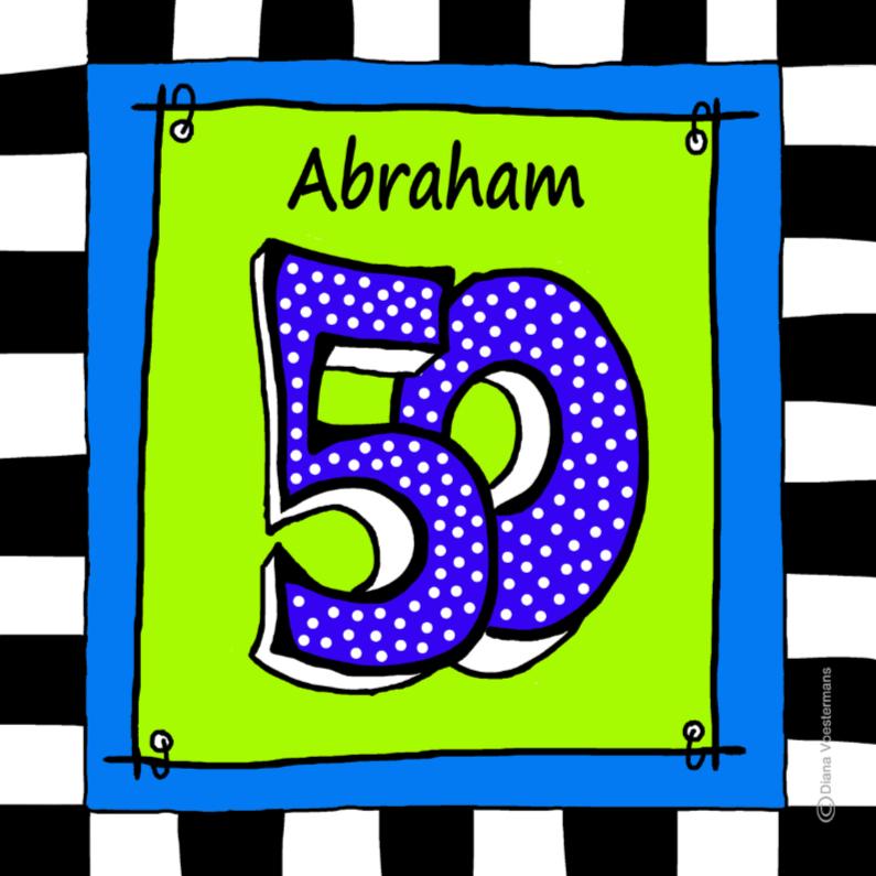 Verjaardagskaarten - Abraham 50 CYL