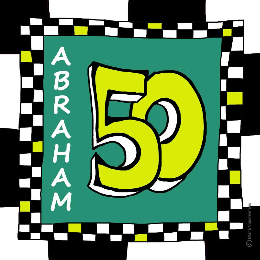 Verjaardagskaarten - Abraham 50 ll