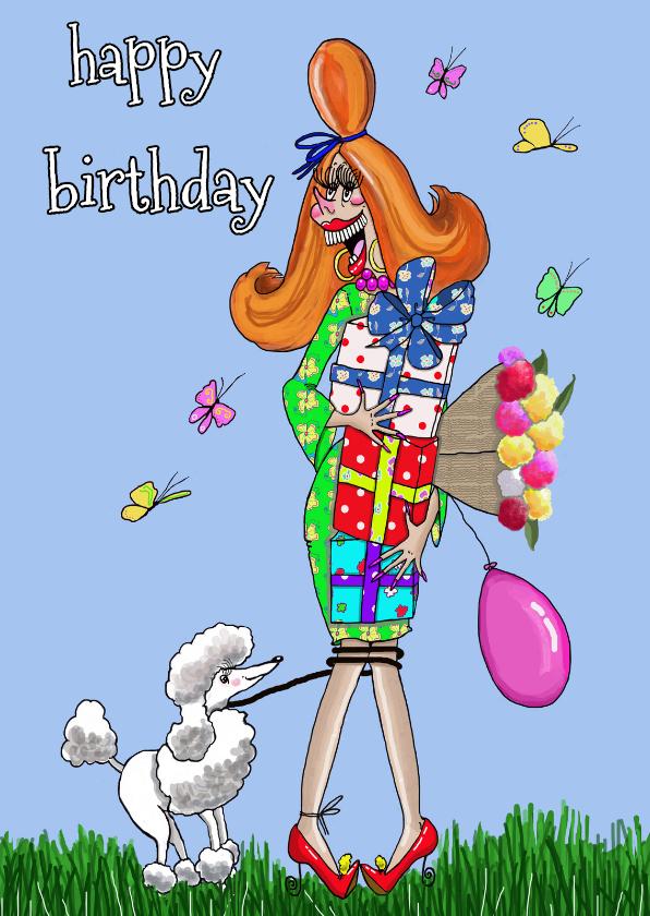 Verjaardagskaarten - Alles voor de jarige.