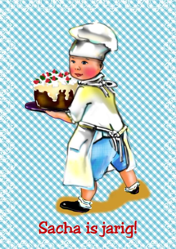 Verjaardagskaarten - Bakkertje - LOVZ