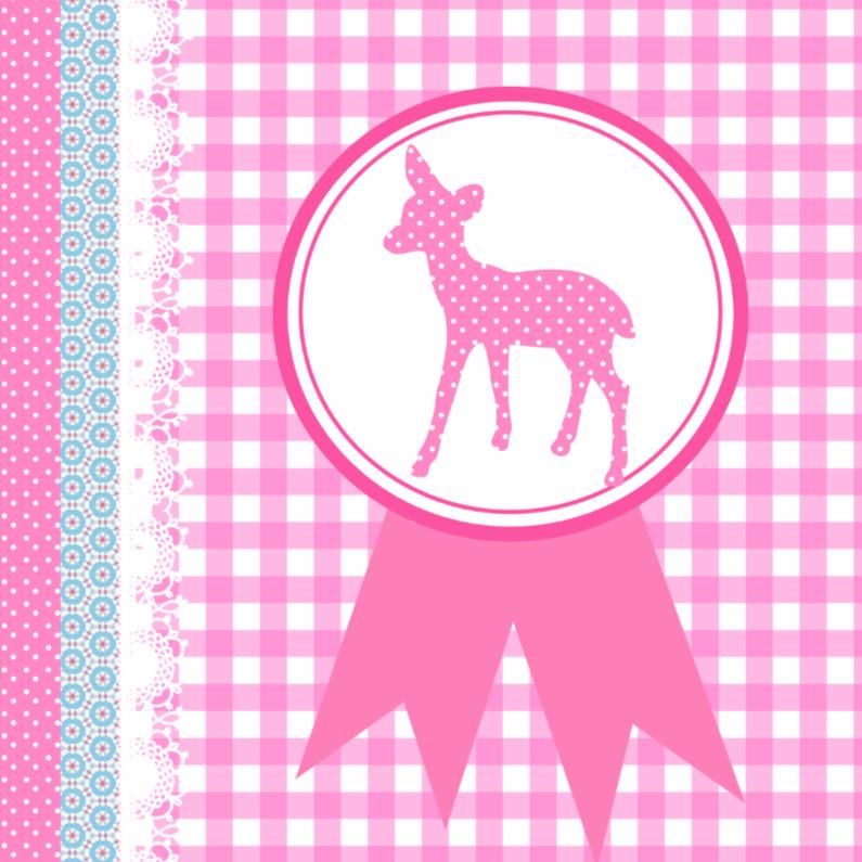 Verjaardagskaarten - Bambi