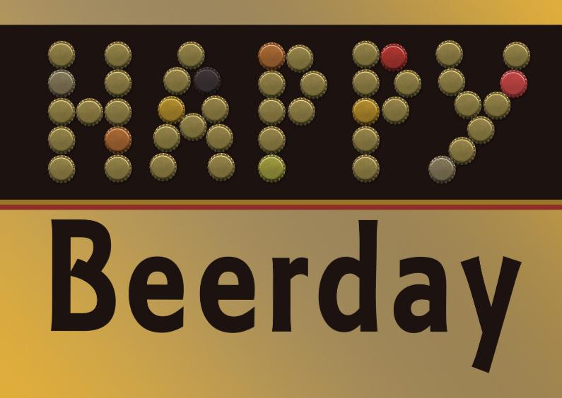 Verjaardagskaarten - Beerday