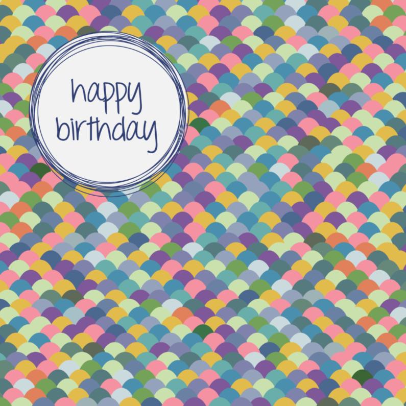 Verjaardagskaarten - bobbelig