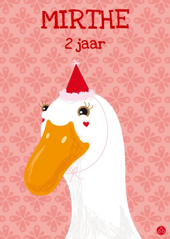 Verjaardagskaarten - Feest Eendje