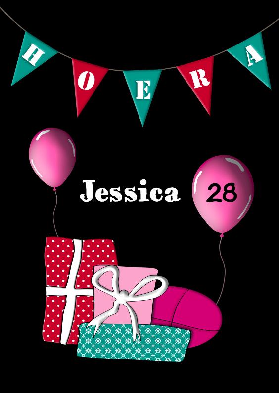 Verjaardagskaarten - Feestelijke verjaardag 1