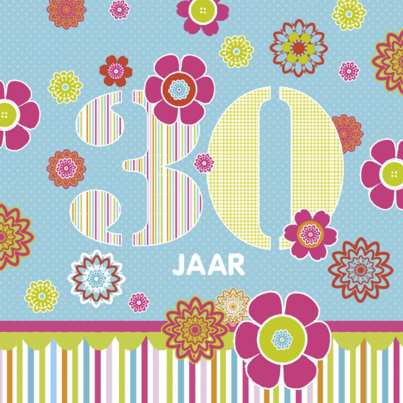 Verjaardagskaarten - Felicitatie 30 jaar
