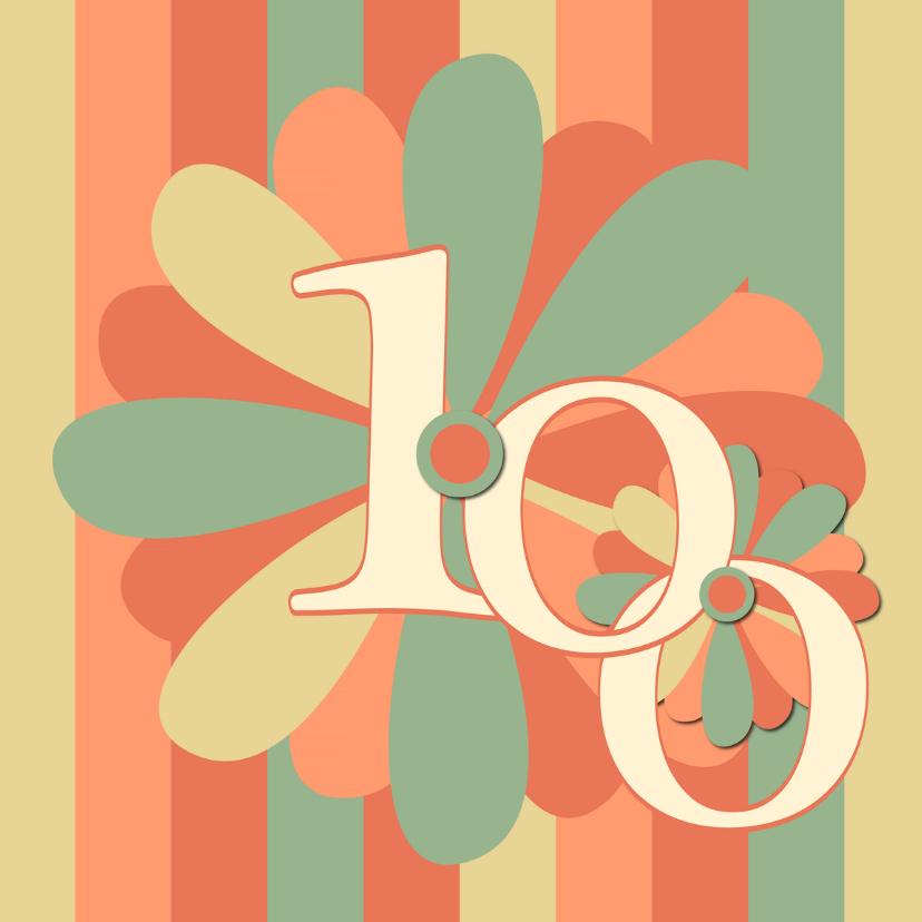 Verjaardagskaarten - flower100