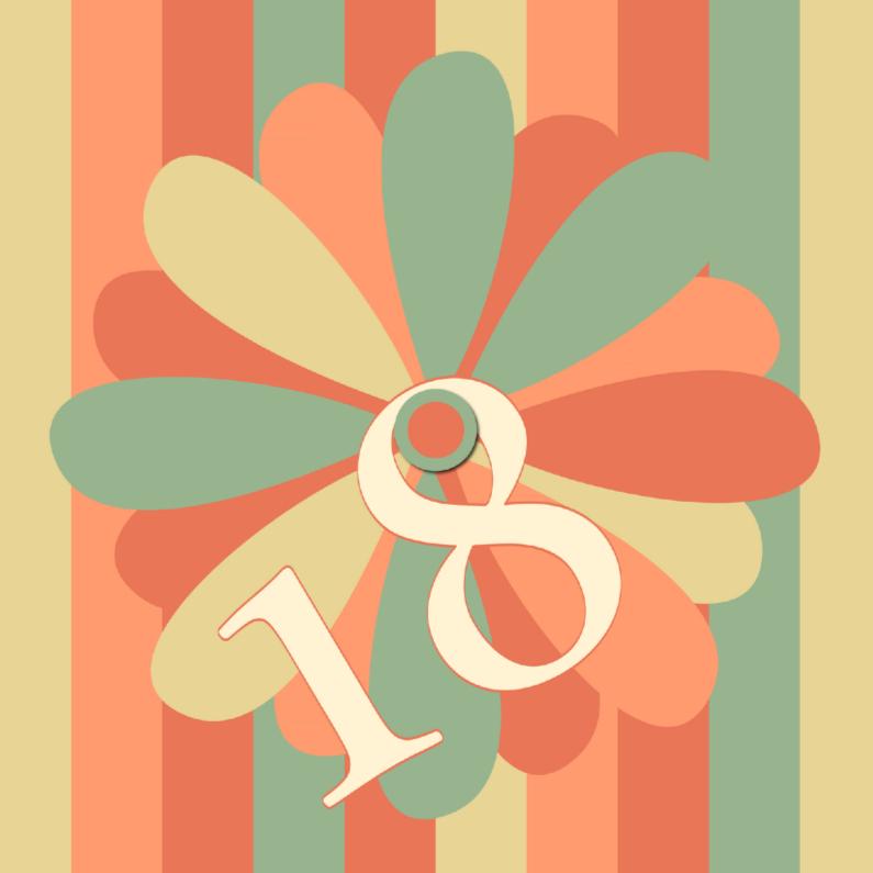 Verjaardagskaarten - flower18